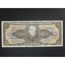 Cédula De 5 Cruzeiros - 1962 - C071 - (l044)