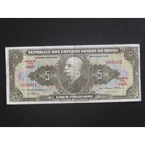 Cédula De 5 Cruzeiros - 1956 - C068 - (l048)