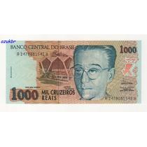 * C238 - 1000 Cruzeiros Reais Fhc/malan Ano 1993 C-238 Fe *