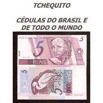 Brasil 5 Reais C280 Fe Cédula Série 0001 - Tchequito
