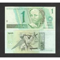 Brasil 1 Real C252 Fe Cédula Série 0001 - Tchequito
