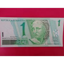 Cédula De 1 Real - C254 - Flor De Estampa, Imperdível!!!