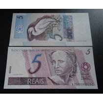 Brasil C 277 5 Reais 2007 Primeira Série 7388 - Fe