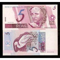 Brasil 5 Reais C279 Fe Cédula Série 7096 (1ª) - Tchequito