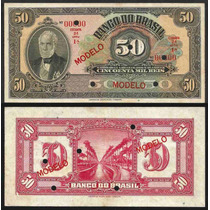 Rc0756 R206m 50 Mil Réis Banco Do Brasil Modelo 1930