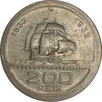 200 Reis 1932, Vicentina, 400 Anos Colonização, Escassa