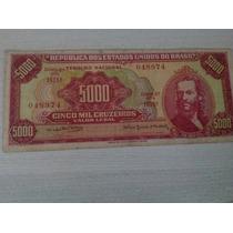 L-66 - C-109 Cédula De Cr$ 5.000,00 - Original - 1964