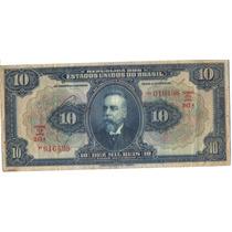 364-cédula De 10 Mil Réis - Brasil - R110c
