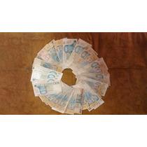 A215 - 35 Cédulas Brasileiras O Lote Em Leilão R$ 20,00