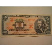 Cedula Antiga Dinheiro Raridade Super Fe