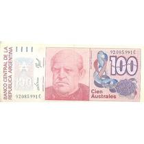 090 - Linda Cédula Estrangeira Fe - Argentina 100 Australes