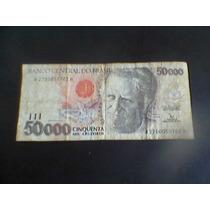 Cédula 50.000 - Cinquenta Mil Cruzeiros