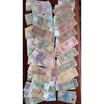 Coleção De Dinheiro Antigo Cédulas Antigas Notas