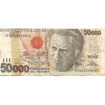 Cedula De Cinquenta Mil Cruzeiros