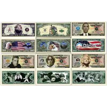Mega Coleção Com 33 Réplicas De Réis + 20 Comemorativas Usa