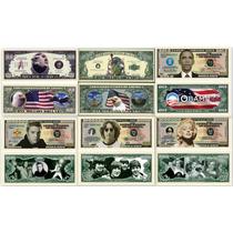 Lindas Cédulas Comemorativas Dos Estados Unidos