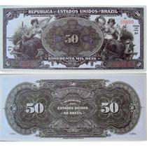Linda Réplica De 50 Mil Réis
