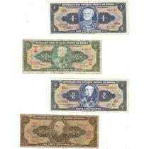 Lote 28 Cédulas Dinheiro Antigo De Cruzeiros, Coleção Lote 5