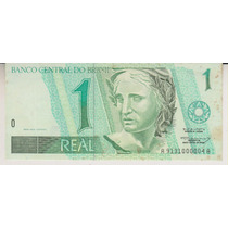 1004 - 1 Um Real Fe Aa 9131 C/ Algumas Manchas R$ 15,00