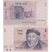Cédula De Israel De 1 Sheqel