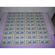 Lote 40 Notas Cédulas Antigas Cruzeiro E Cruzeiros