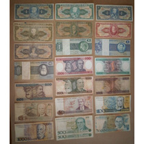Lote 44 Cédulas Dinheiro Antigo De Cruzeiros, Coleção Lote 2