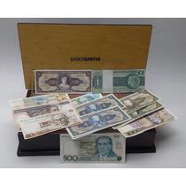 Notas Cédulas Dinheiro Antigo Coleção, Banco Santos