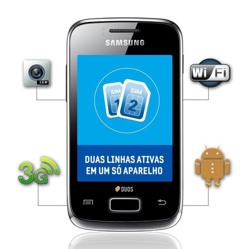 Celular Samsung Duos Dual Chip - Celular Samsung no