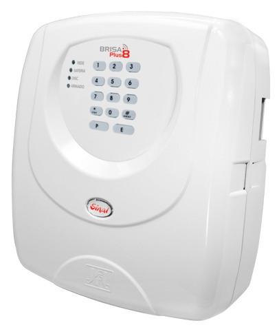 Central De Alarme Jfl Brisa Plus 8 Sinal Discadora Controle
