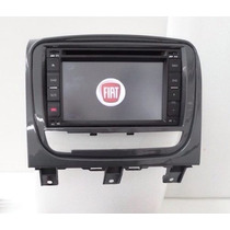 Central Multimídia Fiat Siena Kit Original Completa Gps