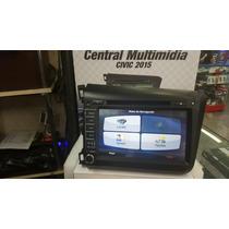 Central Miltimidia Honda Civic 2015 Original