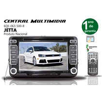 Central Mulltimidia Vw Jetta Confort Line Original Vwtech