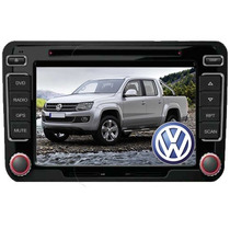 Central Multimidia Original Vw Tech Amarok Tela De 7 +câmera