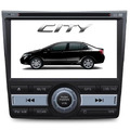 Central Multimidia Honda City Bluetooth Dvd Gps Camera De Ré