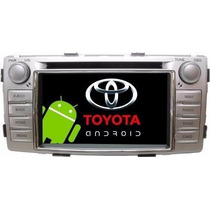 Central Multimidia M1 Dvd Gps Toyota Hilux Android 3g