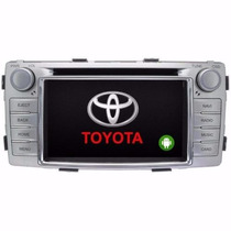 Central Multimídia M1 Toyota Hilux S6244th Android
