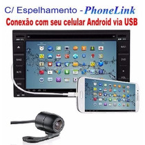 Central Multimídia Aikon Nissan Frontier Phonelink Android