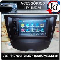 Central Multimidia Hyundai Veloster Especifico - Tv Digital