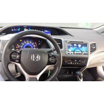 Kit Central Multimídia Civic Honda New Civic 2012 À 2014