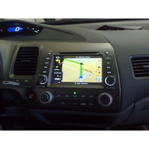 Kit Central Multimídia Civic Honda New Civic 2007 À 2011