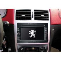 Central Multimídia Peugeot 307 3008 Dvd Tv Gps Camerá Ré