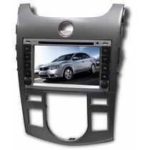 Central Multimidia Kia Cerato Bluetooth Dvd Gps Tela 7 Tv