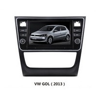 Kit Central Multimídia Volkswagen Gol G6 Top De Linha