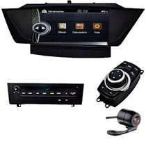 Central Multimidia Bmw X1 Voolt Tela De 9 I-drive Tv Dig Dvd