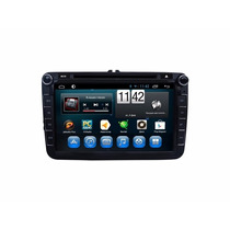 Kit Central Multimidia Android 4.4 Kit Kat 8p Jetta Tiguan
