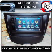 Central Multimidia Hyundai Veloster Especifico - Tv Digital