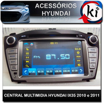 Central Multimidia Hyundai Ix35 2010 E 2011 - Tv Digital