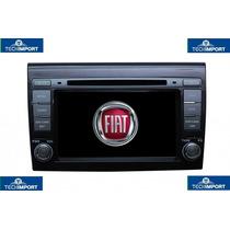 Central Multimidia P/ Fiat Bravo C/ Gps Tv Dig. Bt Sd Etc