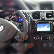 Kit Central Multimídia Novo Logan Renault Multimidia Dvd Gps