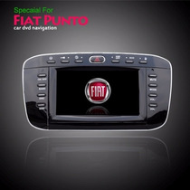 Kit Central Multimidia Tv Dvd Gps Fiat Punto 7